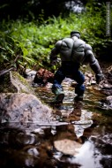 hulk walking in river