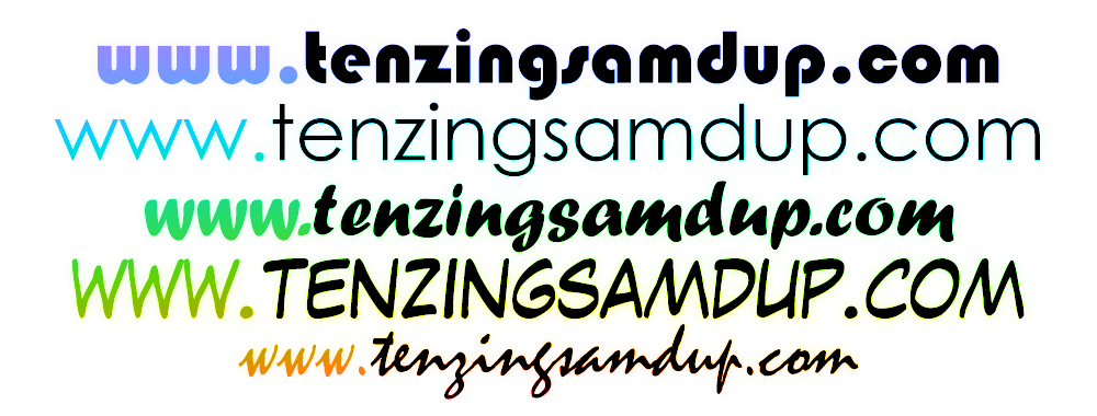 tenzingsamdup.com Is Live!!