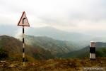 hills fog