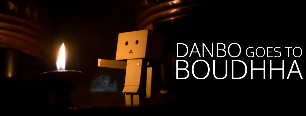 Danbo Goes To Boudhha