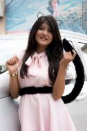 cat girl cosplay nepal kathmandu