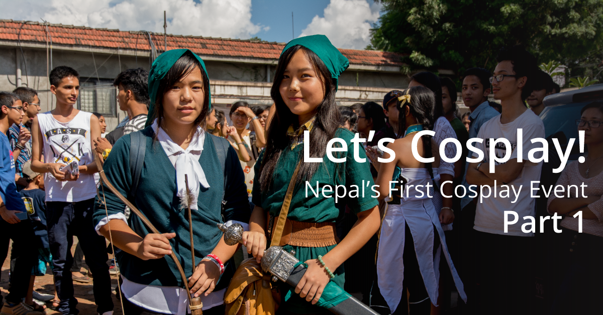 Let S Cosplay The First Gathering Of Nepalese Ani Maniacs 1